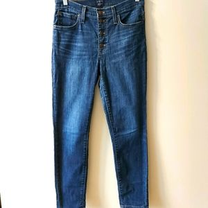 J.crew Button Fly High Waisted Jeans